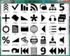 Black WPF/XAML icons